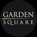Logo rond noir du Garden Square Antananarivo