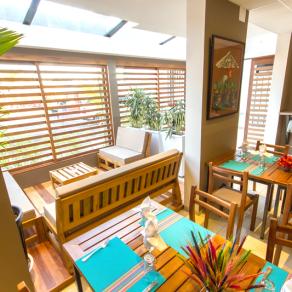 Le restaurant du Garden Square « Délices des Îles »