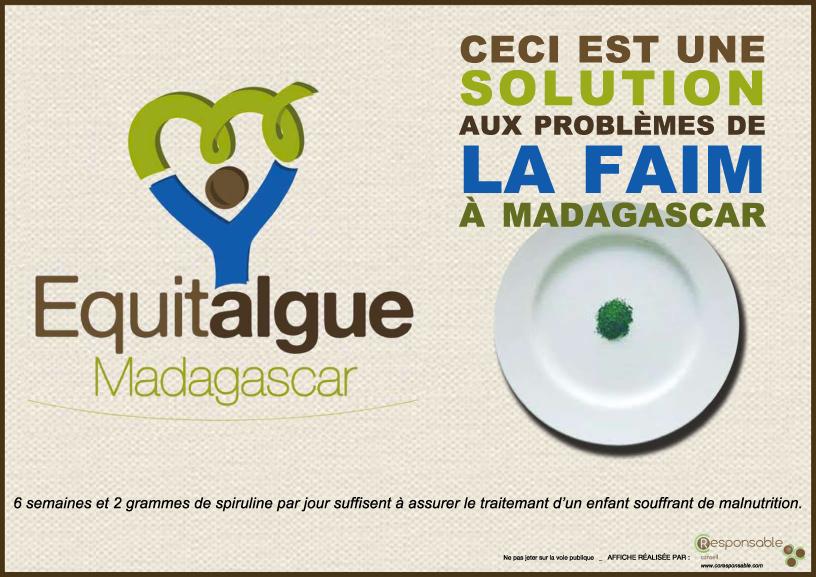 Affiche de presentation EQUITALGUE MADAGASCAR